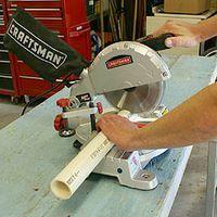 Cutting PVC Pipe - Various Methods