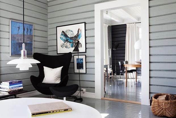 Moderne liv i gammelt hus - Moderne design i sveitserhuset - Bo-Bedre.no