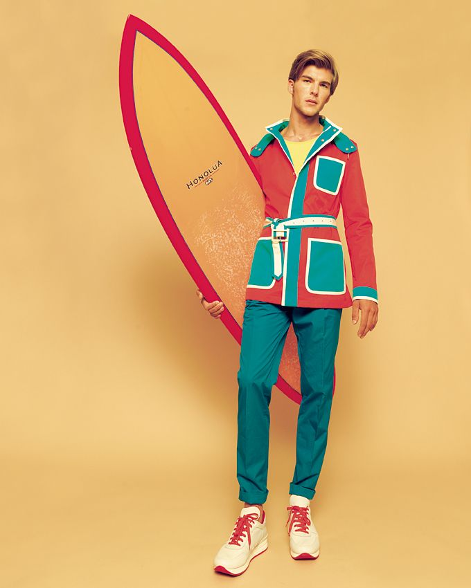 Patrick Kafka Dons Colorful Spring/Summer 2013 Pieces for Nox Magazine