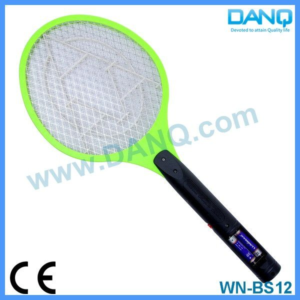 Three layers mosquito catcher, bug zapper, mosquito swatter, mosquito racket with CE-EMC