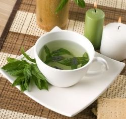 Spearmint Tea Benefits~helps morning sickness, nausea from any cause, soothing to sore throat, if used regularly can reduce androgen imbalance(for some people causes too much embarrassing hair growth), and aids in digestion.