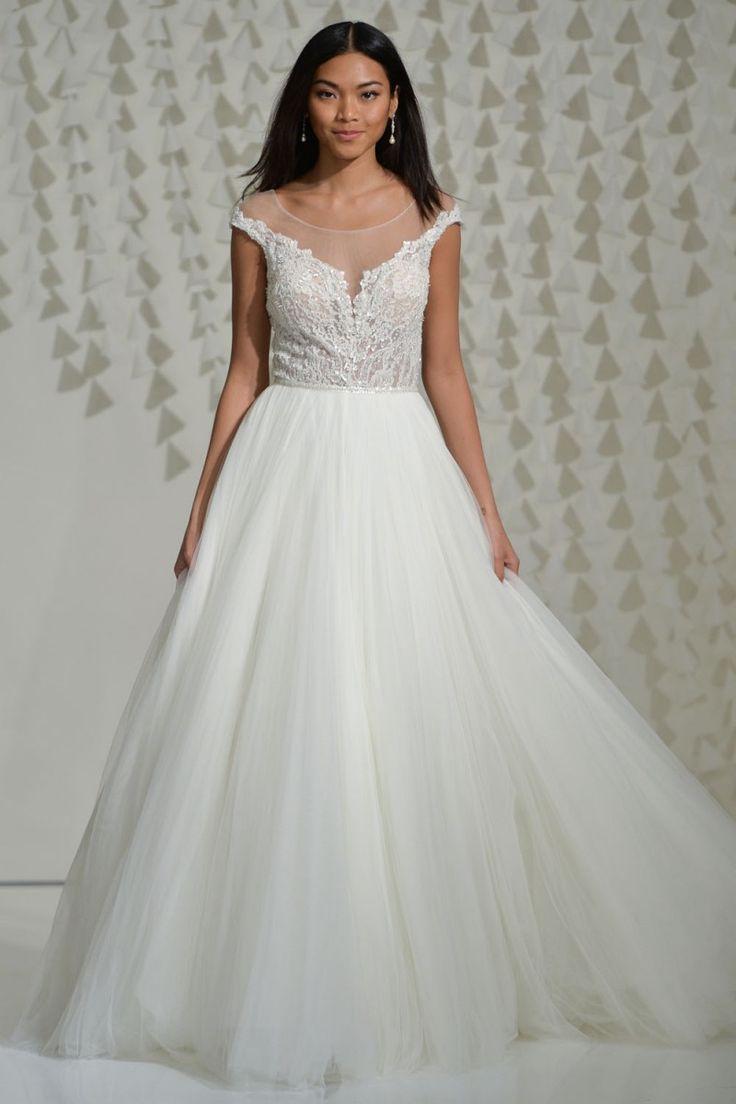 Watters Spring 2016 Wedding Dresses Illusions Fashion