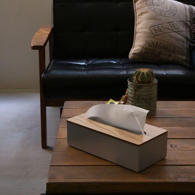 ティッシュケース ALUMI&WOOD TISSUE CASE|家具・インテリア通販 Re:CENO【リセノ】