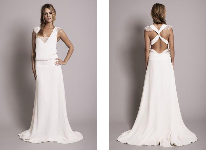 Robe de mariée Rime Arodaky - Lookbook 2012 - Modèle Claire