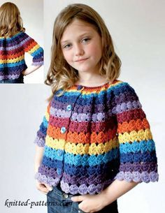 free pattern - child's cardigan