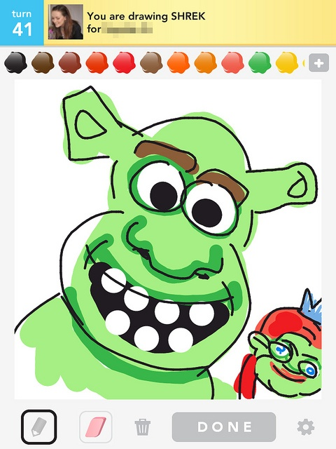 Shrek - Draw Something