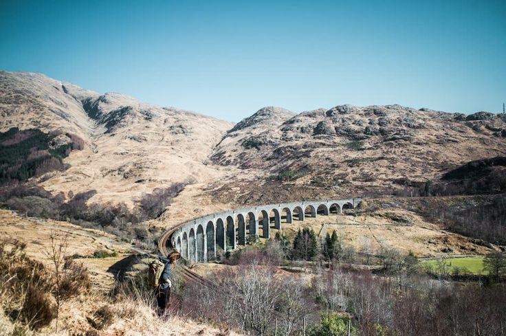 Skye island and Harry Potter's bridge, #Scotland / Île de Skye et le pont d'Harry Potter, Écosse