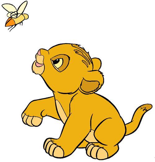 Baby Simba Gif 500 215 523 Lk Clip Art Pinterest