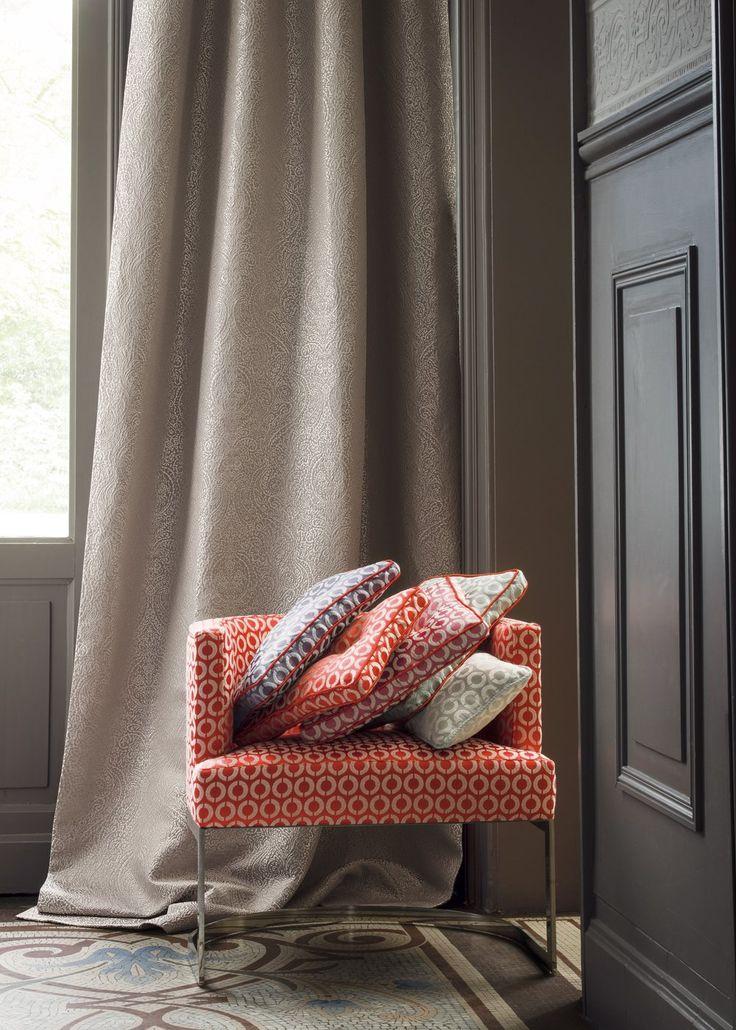 Tissu Reflex Collection Studio - Casamance - Marie Claire Maison