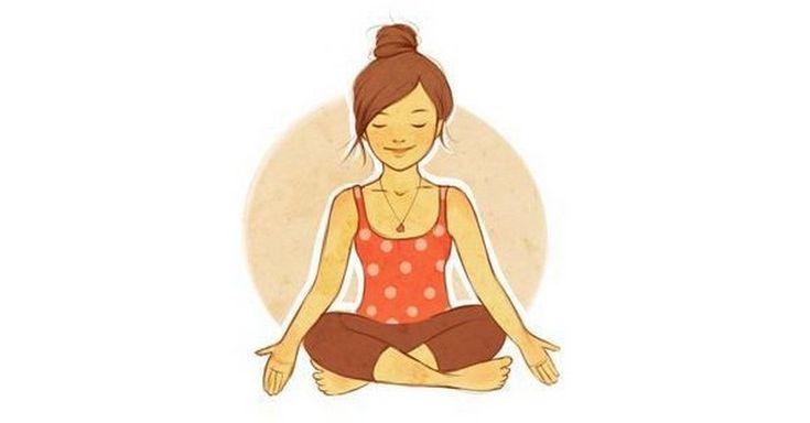 8 jógových cviků na bolesti krční a hrudní páteře