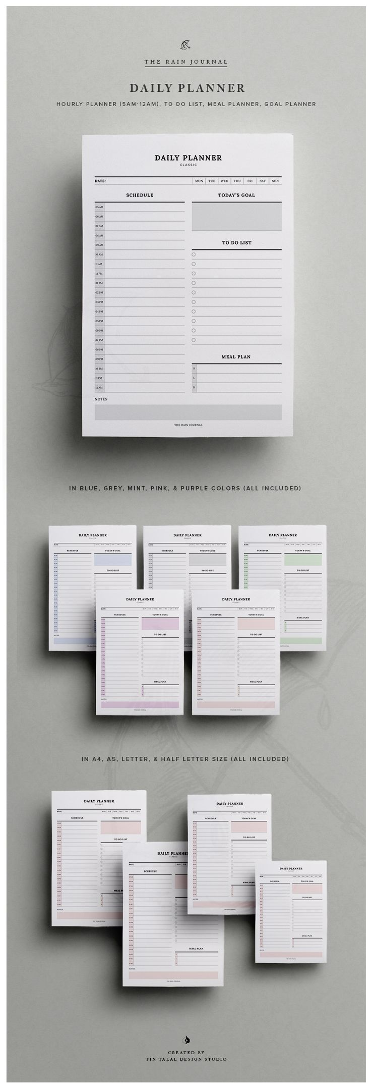 1538 best Planners, Journals & Diaries images on Pinterest ...