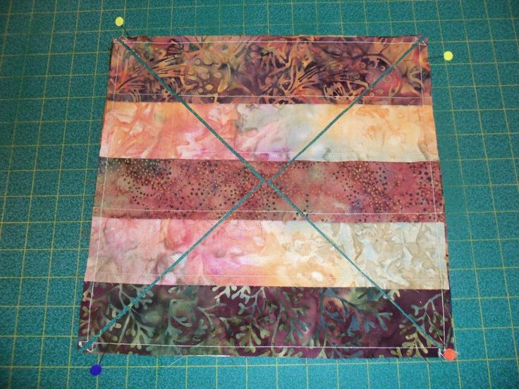 Here Lies the Magic!---This is pretty cool! The 3 dudes method and altered slightly - great pix - good tut! 4 possible variations on same block.