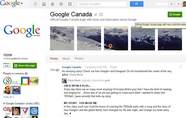 +Google comes to Google Canada