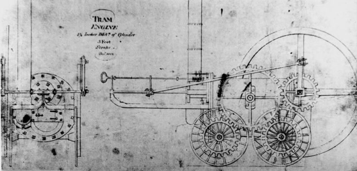 Richard Trevithick – pionier in stoom