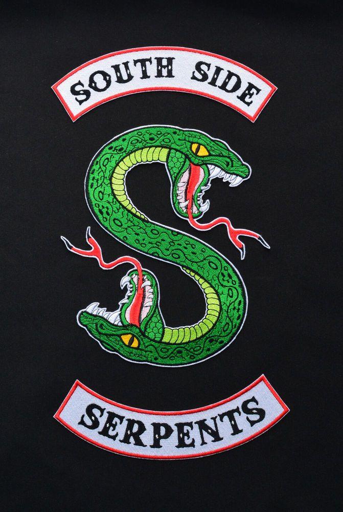 detalhes sobre riverdale south side serpentes inspirado