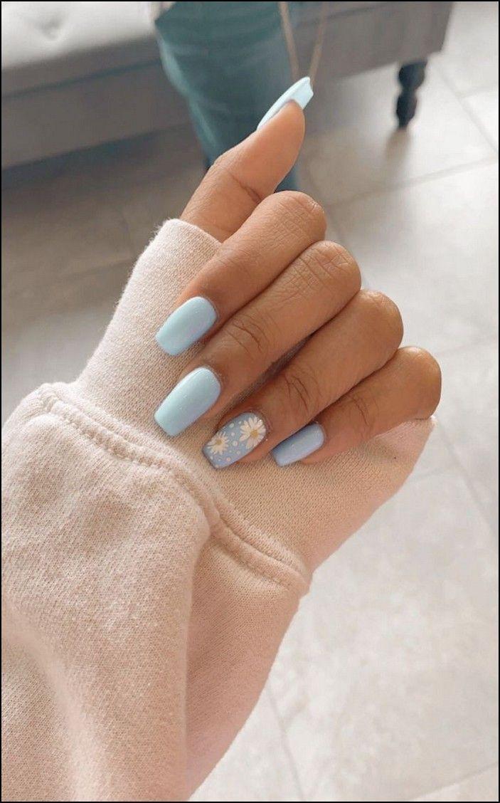 91+ Einfache, kurze Acryl-Sommernägel-Designs für 2019 – Seite 13 – ~ Beauty – Nails & Nail Polish