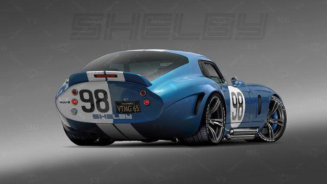 "1965 Shelby Daytona Coupe (rear) ""Ferrari Killer"" | Flickr - Photo Sharing!"