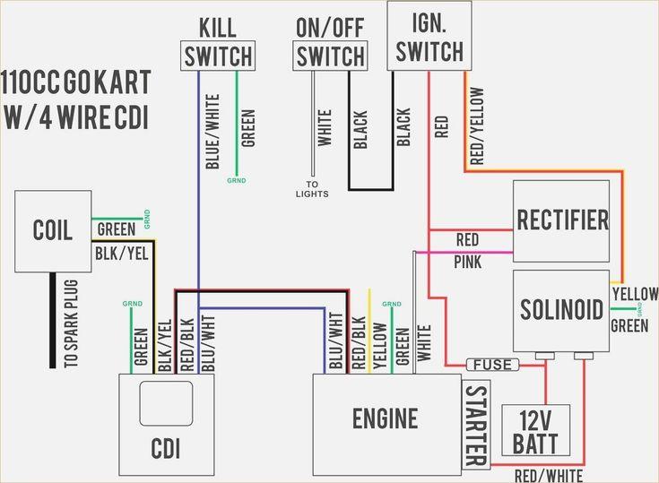 Wiring Diagram For Chinese 110cc Atv 110cc Chinese Atv