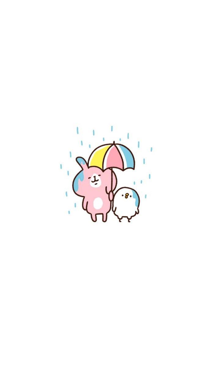 Cute Animal Iphone Wallpaper Kanahei かなへい墙纸 勿偷图【如大家想转载,请记得注明,还有私信我,谢谢】 Usagi Amp Pisuke