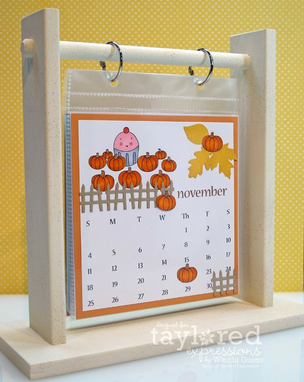 A Blog Called Wanda: Taylored Expressions November Calendar Challenge!