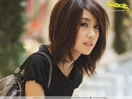 Asian mid-length hair