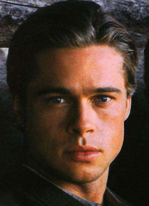 Brad Pitt - Legends of the Fall - that's when I fell in love...hehe