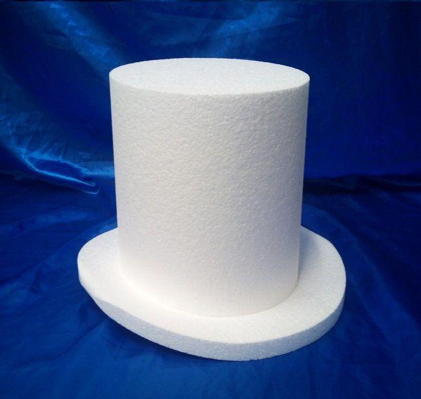 Top Hat cake dummy