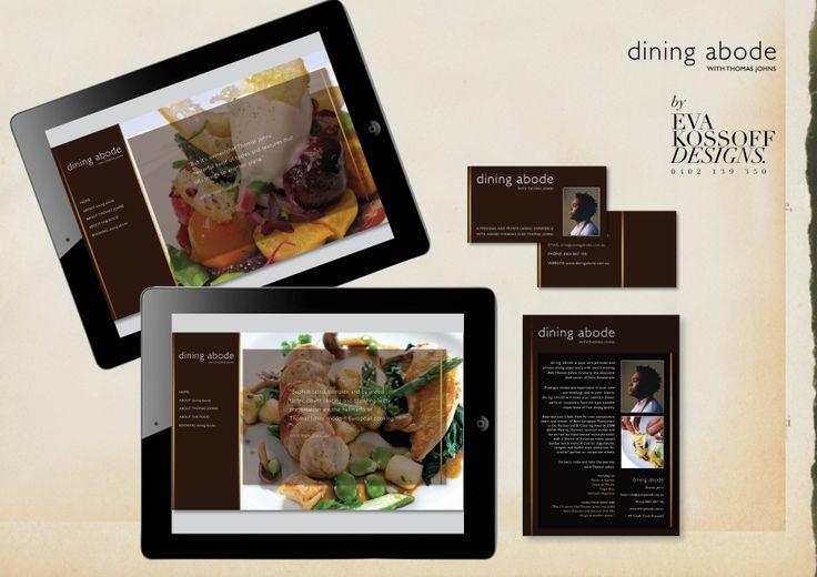 Dining adobe identity @ Eva Kossoff Designs