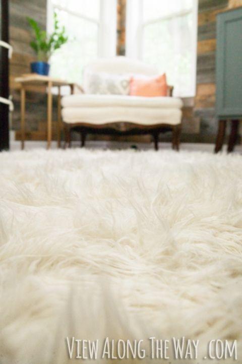 Best 25 Faux Fur Rug Ideas On Pinterest