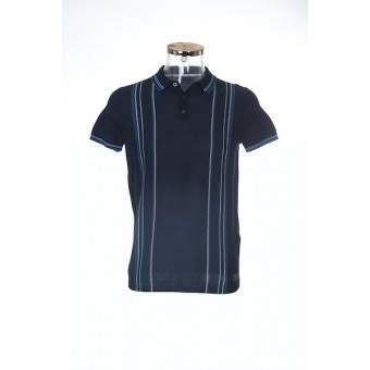 Ben Sherman Knitted Polo ME00065 Classic Navy