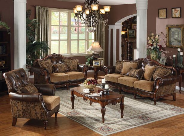 Living Room:Awesome Living Room Styles Design Ideas for Decorating Mediterranean Living Room With Traditional Sofa Sets Also Classic Carpet And Formal Concept Applying Plus Pendant Lamps