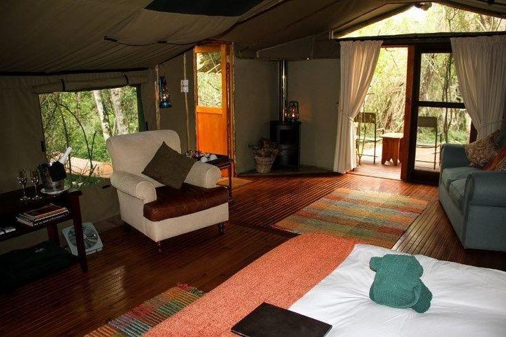 Sibuya Forest Camp luxury tent interior