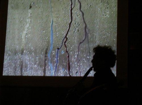 "Estonian multimedia artist Jaanika Peerna's ""Performance Documentation"" (with beaux David Rothenberg), part of Terrain.org's ARTerrain gallery, Issue 19. View full gallery at http://www.terrain.org/arterrain/19/gallery.htm."