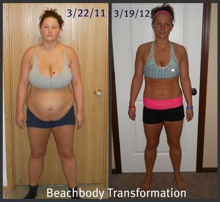 Ashton M.'s Insanity Workout Results: Before and After