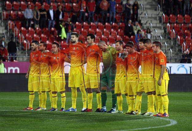 FC Barcelona, | Mallorca 2-4 Barça. 11.11.12.