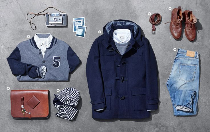Look book with men's fashion | #SELECTED HOMME à @L'étage Homme