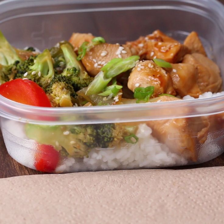 Weekday Meal-Prep Chicken Teriyaki Stir-Fry