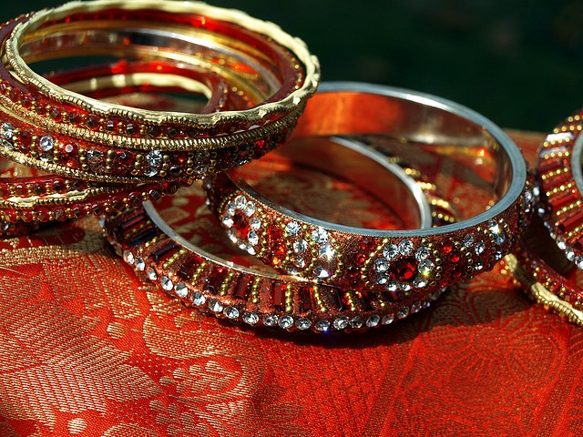 laura - could be Esmeralda's bracelets