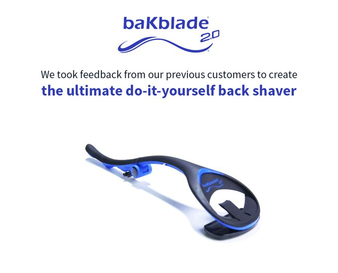 Best 25 back shaver ideas on pinterest body shaver unique tame unruly back hair with the bakblade 20 do it yourself back shaver solutioingenieria Gallery