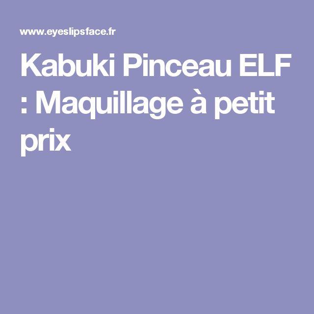 Kabuki Pinceau ELF : Maquillage à petit prix