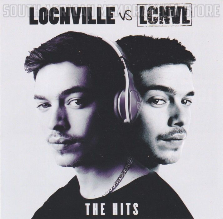 LOCNVILLE VS LCNVL - The Hits - South African CD CDJUST749 *New*