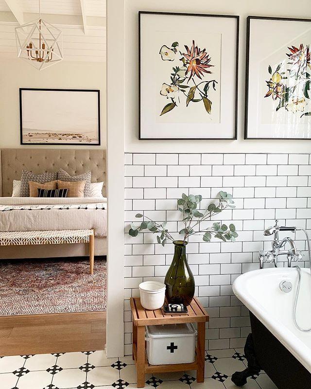 Blackard Modernfarmhouse Master Bath Bathroom Bedroom Modern