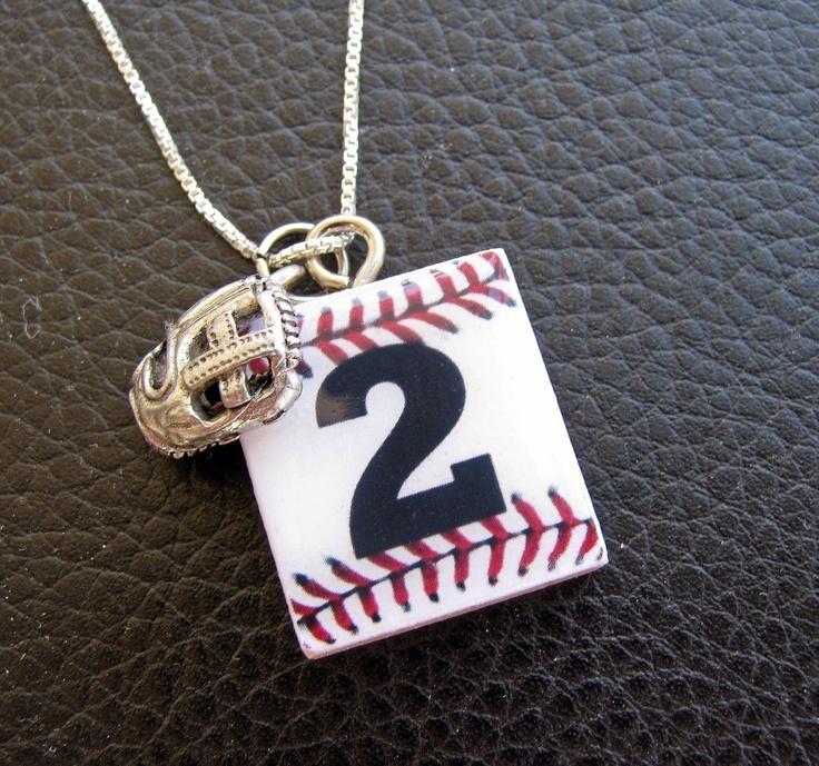 Baseball Necklace.