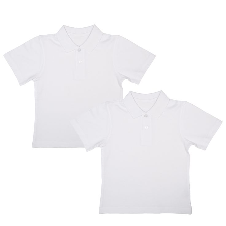 Boys Polo Shirts.  Send them back to class in style with this school uniform essential.  Cotton-rich, white polo shirt will ensure they're ready to tackle whatever the day throws at them. Durable and long lasting shirt that you can tumble dry.  100% cotton.  2 pack.  Available sizes: 4-5, 5-6, 6-7, 7-8, 8-9, 9-10, 10-11, 11-12, 12-13 (years)  #School  #schoolshoes #backtoschool #bmstores #bandm #bandmbargains #parents #children #kids #clothes #schooluniform #teenagers #boyspoloshirts…