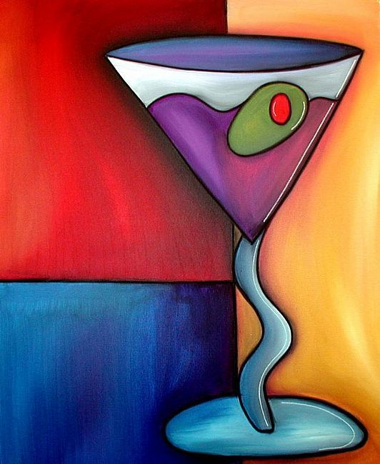 Art: Time To Relax - Wine 57 by Artist Thomas C. Fedro
