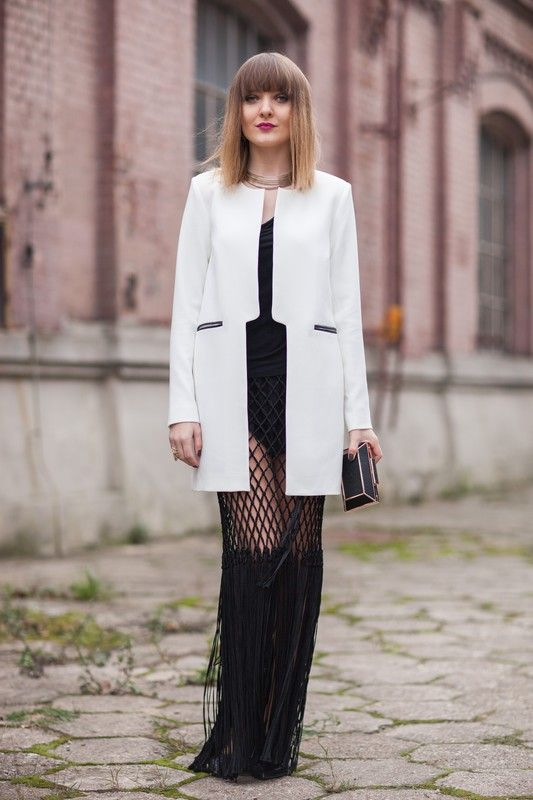 Street fashion: Fashion Week Poland wiosna-lato 2015, fot. Szymon Brzóska/East News