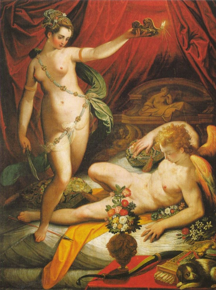 Jacopo Zucchi - Amor and Psyche