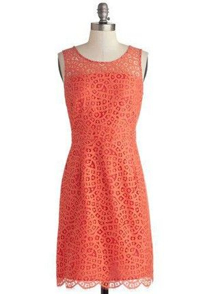 @ModCloth style for a bridal shower or wedding guest.