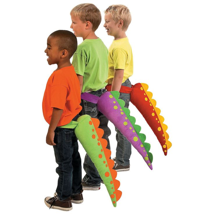 Dinosaur Tails - OrientalTrading.com.  $25 for 6 tails