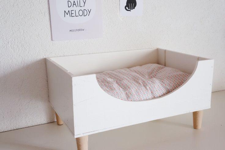 Diy ~ Un lit pour chat - Caely
